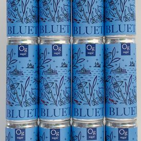 BLUET Blueberry Sparkling win in Cans